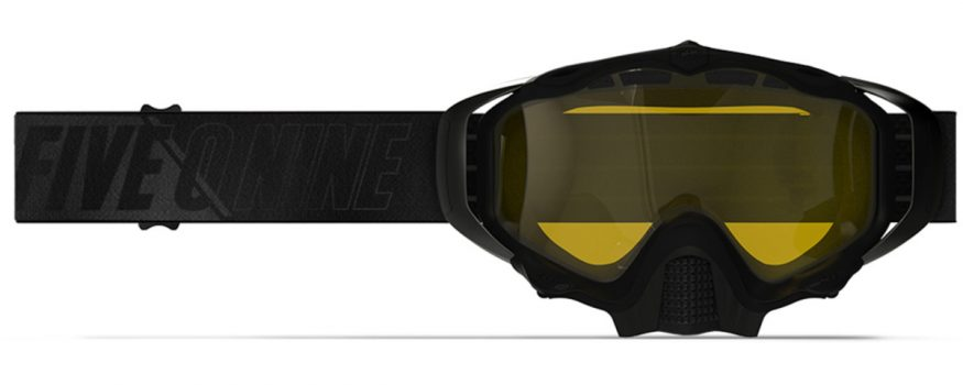 509 Sinister X5 briller BLACK WITH YELLOW